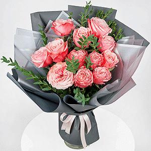 Бизнес-букет +30% цветов с доставкой в Ельце